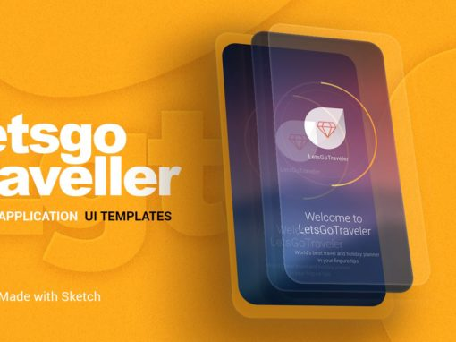 Let's Go Traveller – Mobile UI Design